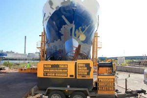 Adelaide ships and boats sandblasting