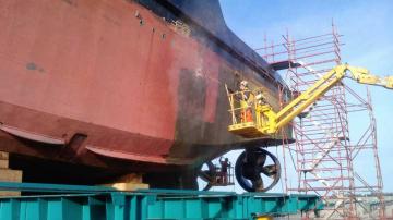 Marine Abrasive Blasting