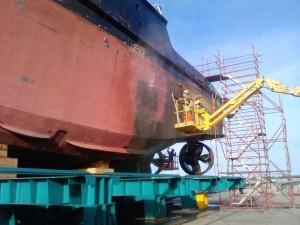 AEB | Marine Abrasive Blasting | Shipping
