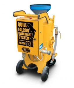 Adelaide blasting machine hire   Quill Falcon Kwikblast 120 litre