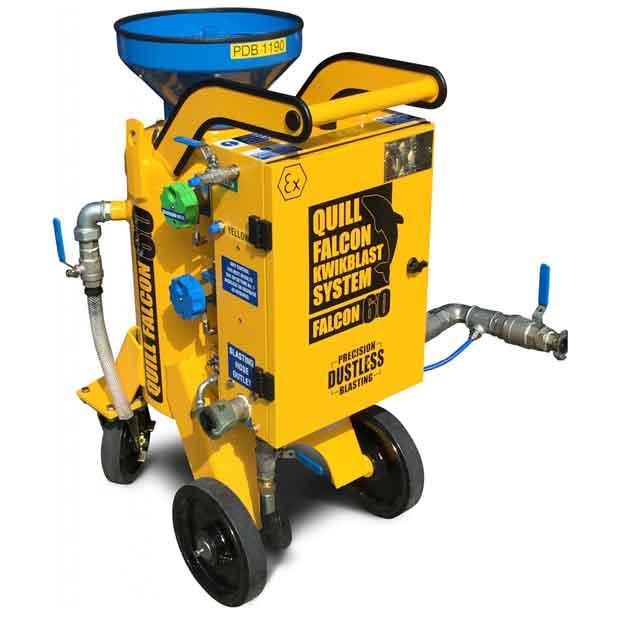 Adelaide blasting machine hire | Quill Falcon Kwikblast 60 litre