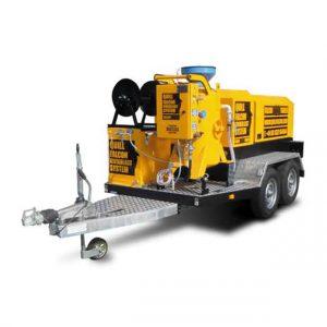 Adelaide blasting machine hire | Quill Falcon Kwikblast 120 litre trailer