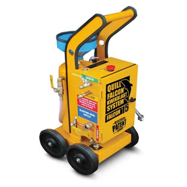 Adelaide blasting machine hire | Quill Falcon Kwikblast 15 litre