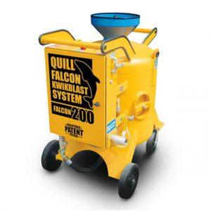 Adelaide blasting machine hire | Quill Falcon Kwikblast 200 litre
