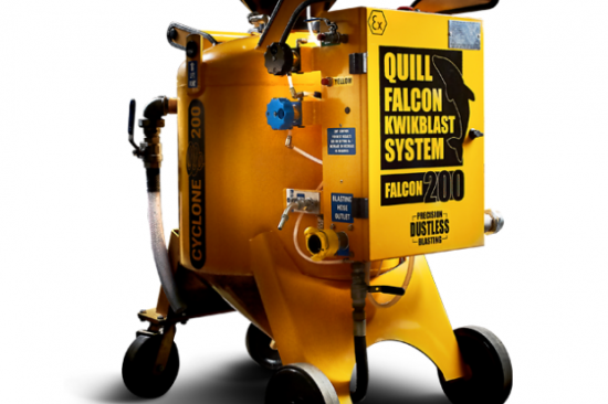 Quill Falcon Cyclone 200 Portable Dustless Blasting Machines