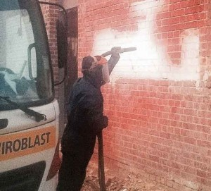 AEB | Graffiti Removal | Abrasive Blasting