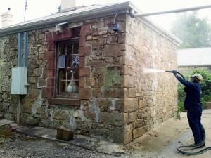 Wet slurry blasting servie in Adelaide