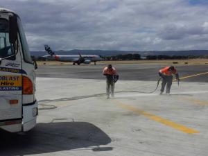 Adelaide Sandblasting Line Marking Removal