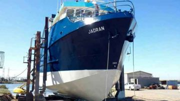 Abrasive Blasting for Ships and Boats: Jadran