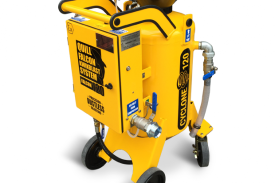 Quill Falcon Cyclone 120 Portable Dustless Blasting Machines