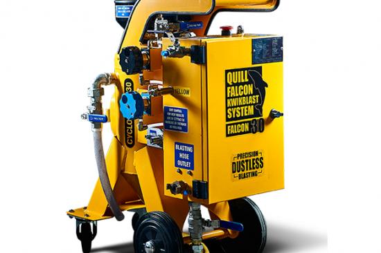 Quill Falcon Cyclone 30 Portable Dustless Blasting Machines