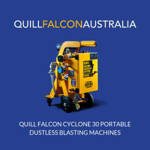 Australian Mobile Wet Dustless Blasting Equipment