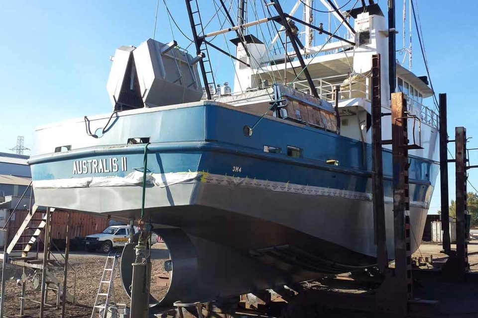 Soda Blasting for Boats Adelaide