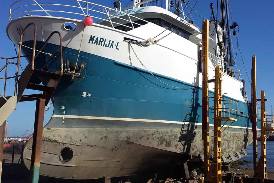 Adelaide Marine Slurry Blasting