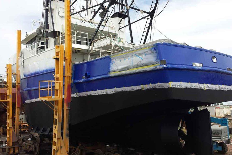 Adelaide Sandblasting for Ships