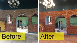 Adelaide Wet Grit Blasting Heritage Brick Restoration